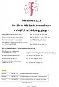 ZEB Infoabende 2018